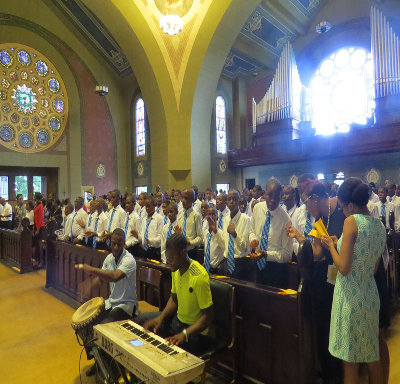 STGC's Welcome Service… Class 2022 and 6 I Students